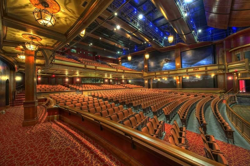 Inside view of the Florida Theatre in Jacksonville